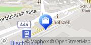 Karte migrolino Shop Bischofszell, Schweiz