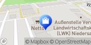 Karte Netto Filiale Verden, Deutschland