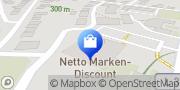 Karte Netto Filiale Bad Emstal, Deutschland