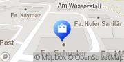 Karte ABEX SCHUSTER HAUSTECHNIK Salem, Deutschland