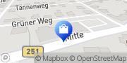 Karte PENNY-Markt Discounter Habichtswald, Deutschland