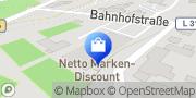 Karte Netto Filiale Birstein, Deutschland