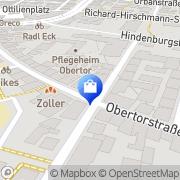 Karte Obertor-Apotheke Esslingen Esslingen, Deutschland