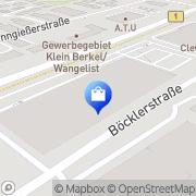 Karte Marktkauf Hameln-Wangelist Hameln, Deutschland