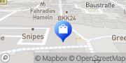 Karte Apollo-Optik Hameln, Deutschland