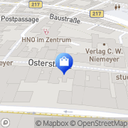 Karte E-Plus Shop Hameln, Deutschland