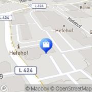Karte Pro Office, Büro und Objekteinrichtungen Vertriebsge Hameln, Deutschland