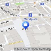 Karte WMF St. Gallen, Schweiz