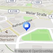 Karte Netto Filiale Obersulm, Deutschland