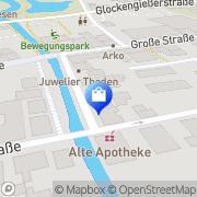 Karte PFAFF-Nähmaschinen Schmidt Rotenburg (Wümme), Deutschland