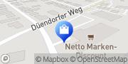 Karte Netto Filiale Wunstorf, Deutschland