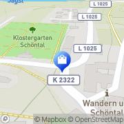 Karte Kloster-Apotheke Schöntal, Deutschland