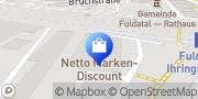 Karte Netto Filiale Fuldatal, Deutschland