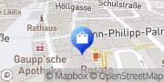 Karte Apollo-Optik Schorndorf, Deutschland