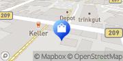 Karte Vodafone Shop Walsrode, Deutschland