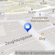 Karte Frick Olga Feldkirch, Österreich
