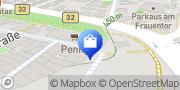 Karte PENNY-Markt Discounter Ravensburg, Deutschland