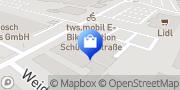 Karte Netto Filiale Ravensburg, Deutschland