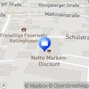Karte Netto Filiale Kellinghusen, Deutschland