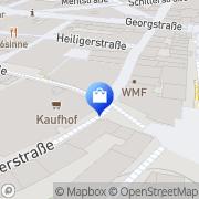 Karte WMF Hannover, Deutschland