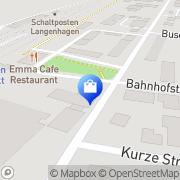 Karte TELCAT MULTICOM GmbH NL Hannover Langenhagen, Deutschland