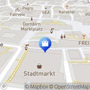 Karte EXTRA D MODE Dornbirn, Österreich