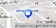 Karte Vodafone Shop Biberach, Deutschland
