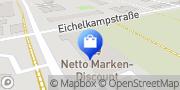 Karte Netto Filiale Hannover, Deutschland