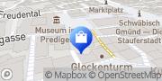 Karte Telekom Shop Schwäbisch Gmünd, Deutschland