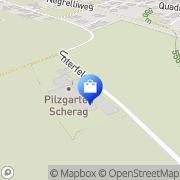 Karte Gärtnerei Scherag Nüziders, Österreich