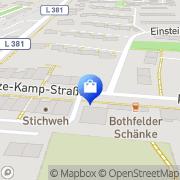Karte Süßes Kaufhaus Hannover, Deutschland