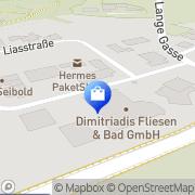 Karte Dimitriadis Fliesen und Bad mit Format GmbH Schwäbisch Gmünd, Deutschland