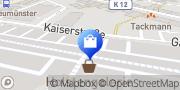 Karte Vodafone Shop Neumünster, Deutschland
