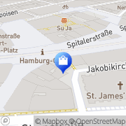 Karte WMF Hamburg, Deutschland
