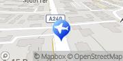 Map Falcon Chauffeur Surbiton, United Kingdom