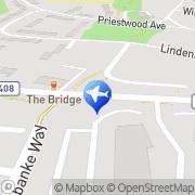 Map Elizabeth House Hotel Binfield, United Kingdom
