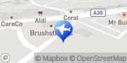 Map HART CARS Camberley, United Kingdom