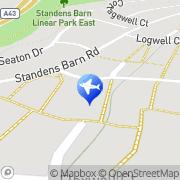 Map Linthorpe Hall 248 Northamptonshire, United Kingdom