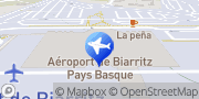 Carte de Sixt location de voitures Anglet, France