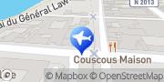 Carte de National Car Rental - Gare de Cherbourg Cherbourg, France