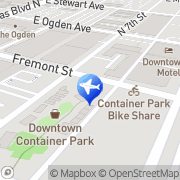 Map Atomic Scooter Rentals and Tours Las Vegas, United States