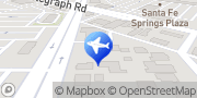 Map Enterprise Rent-A-Car Whittier, United States
