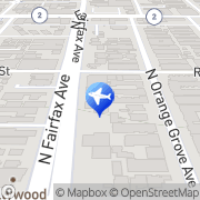 Map dsla Driving Services - Los Angeles West Hollywood, United States