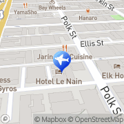 Map American Airporter Shuttle Inc. San Francisco, United States