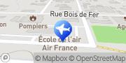 Carte de Air France Cayenne, France