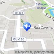 Map Taxi Barbadas A Valenza, Spain