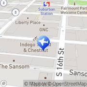 Map Liberty Travel Philadelphia, United States