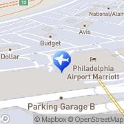 Map Philadelphia Airport Marriott Philadelphia, United States