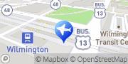 Map Enterprise Rent-A-Car - Closed Wilmington, United States