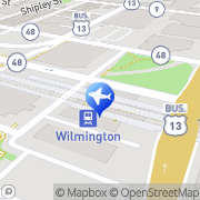 Map Hertz Wilmington, United States